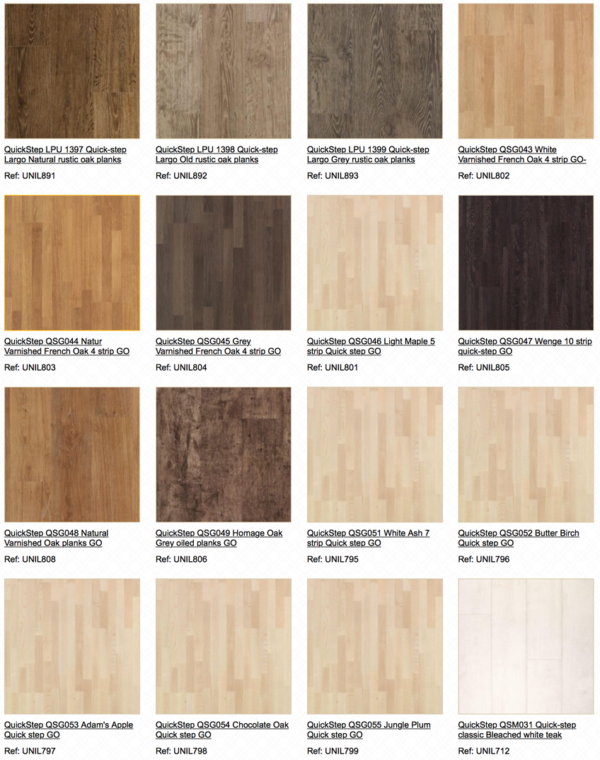 quick step laminate flooring uk